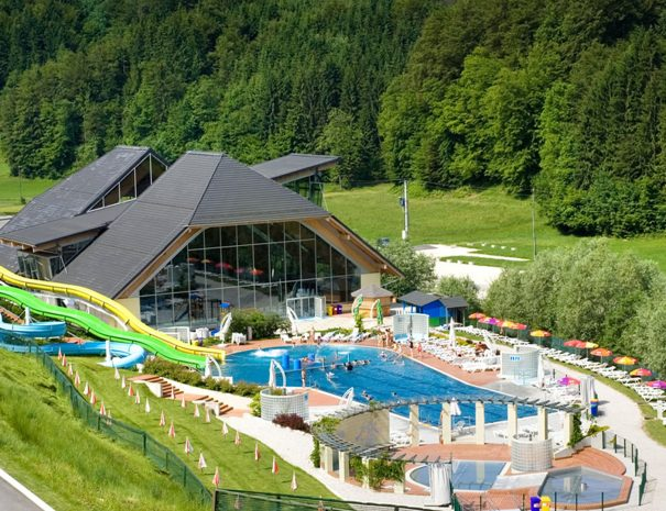 Terme snovik, the local aquapark.